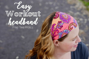 Easy 4 step Workout Headband