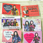 Disney Descendants Classroom Valentine Printable