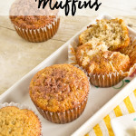 Coconut Banana Muffins {Recipe}