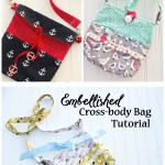 Embellished Cross-body Bag Tutorial