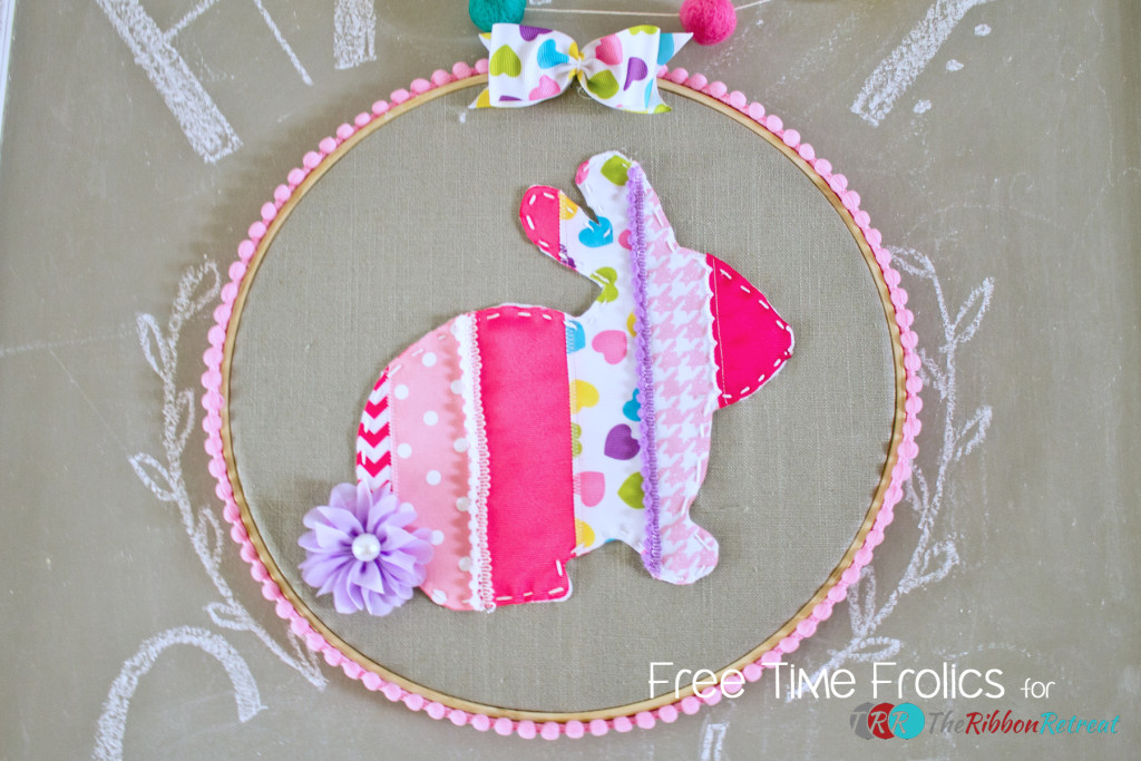ribbon-bunny-embroidery- hoop