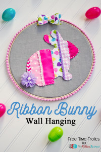 Ribbon Holiday Hoop Decor