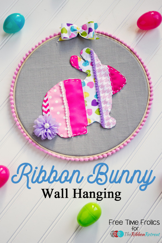 ribbon-bunny-wallhanging www.freetimefrolics.com