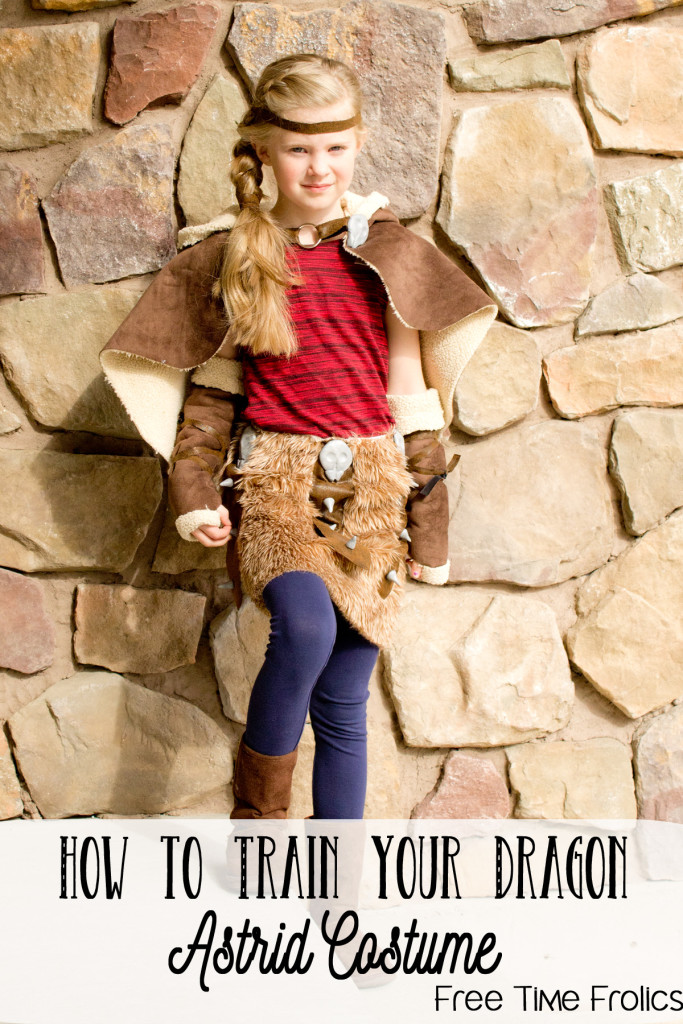 how to train your dragon astrid costume diy www.freetimefrolics.com