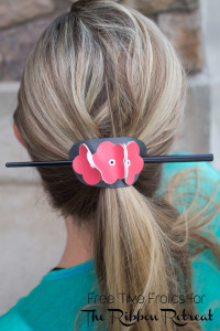 faux leather pony tail cover www.freetimefrolics.com