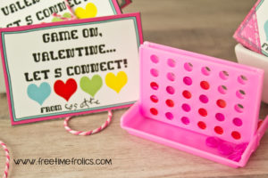 free printable mini game valentine. Game on Valentine, lets connect www.freetimefrolics.com mini games availble at Orientaltrading.com