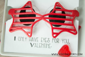 valentines for kids classrooms. Just add sunglasses www.freetimefrolics.com