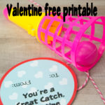 Great Catch classroom Valentine