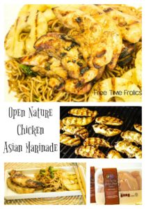 Open Nature Grilled Chicken Marinade www.freetimefrolics.com