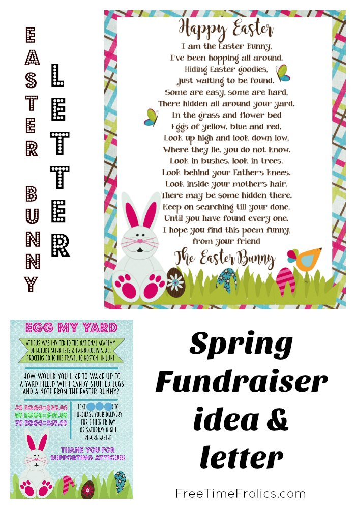 picture relating to Letter From Easter Bunny Printable identified as Easter Bunny Letter - Cost-free Year Frolics