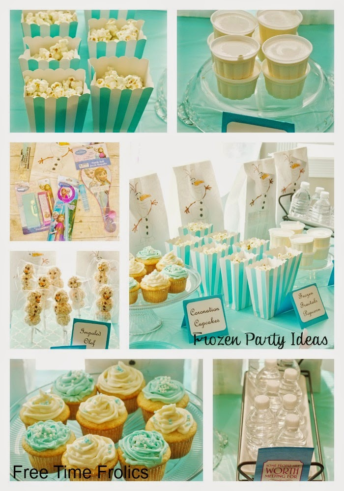 frozen birthday party diy Frozen Decoration Ideas