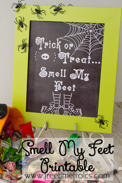 trick or treat smell my feet craft smell my printable 8157
